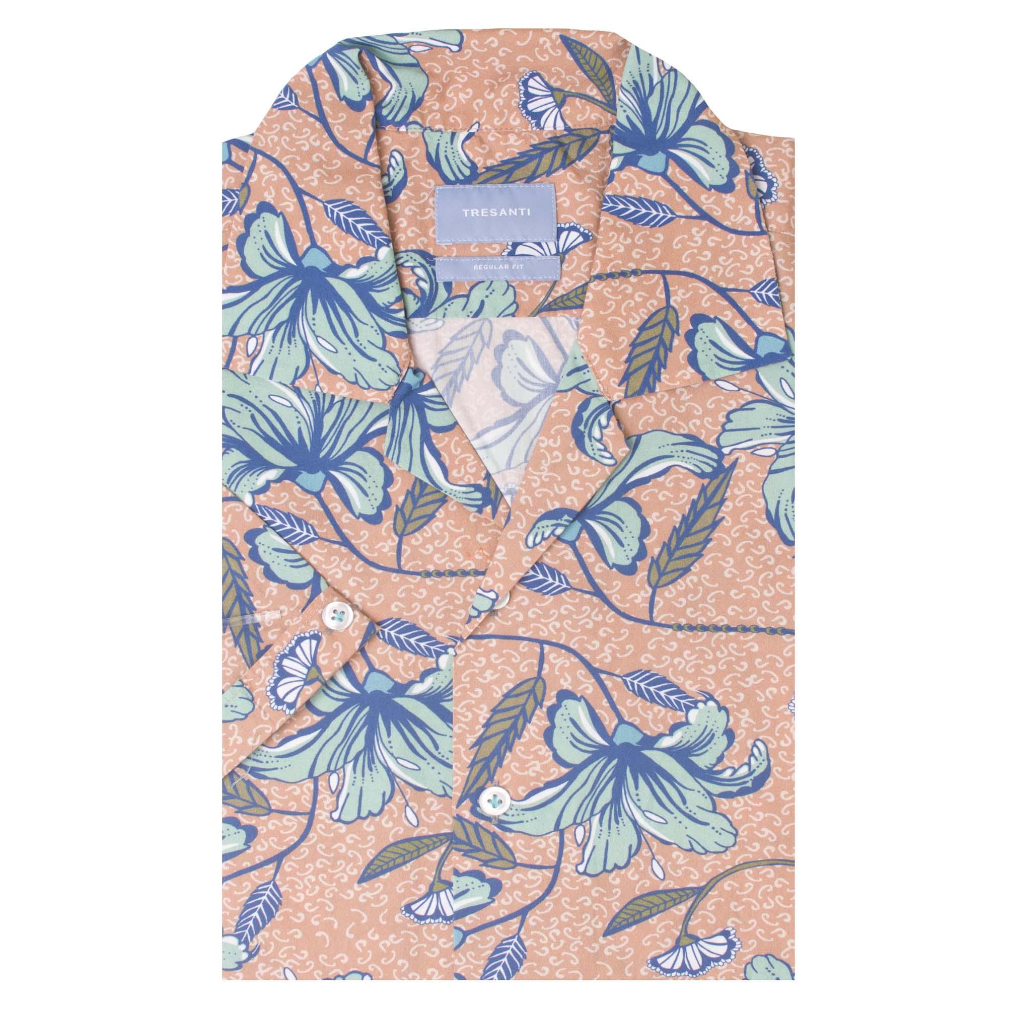 Thiago   Shirt hawaii flower print   SS