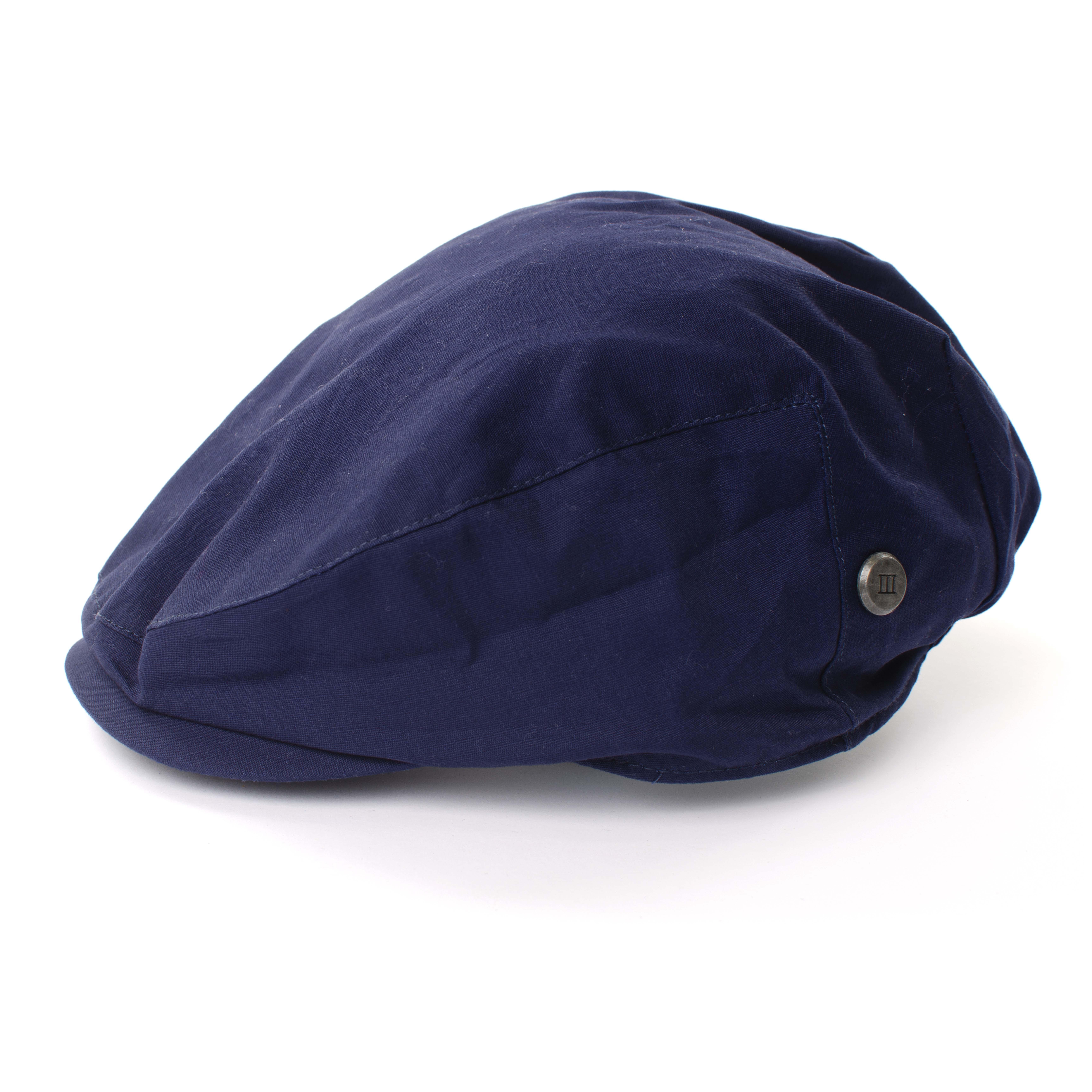 Teddie | Flat cap navy blue