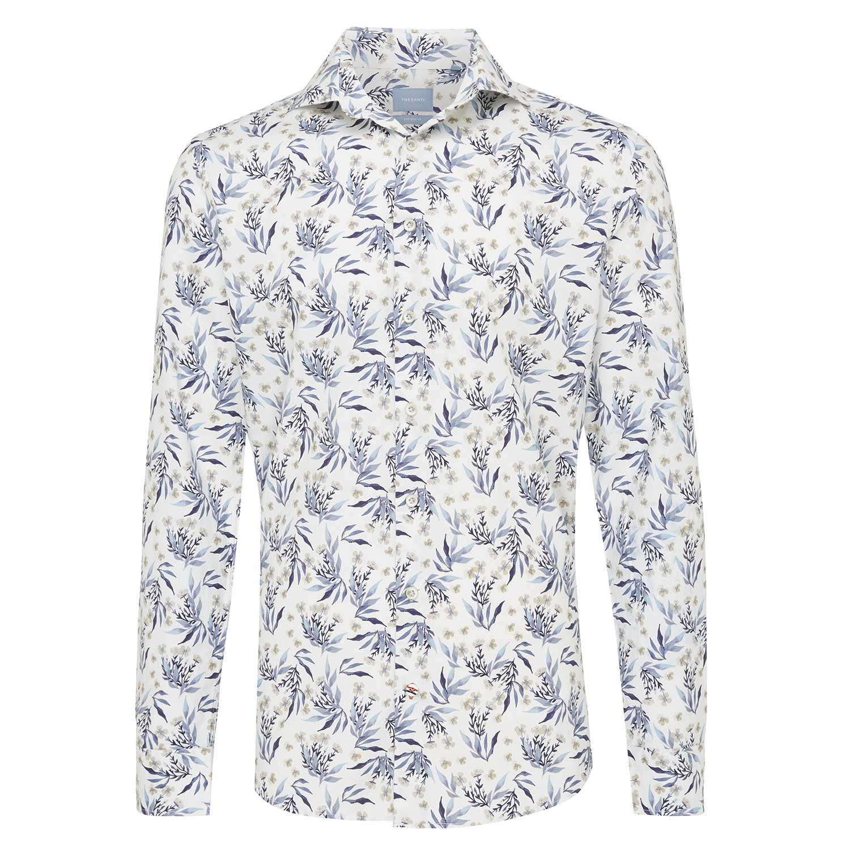 Matias   Shirt floral print blue