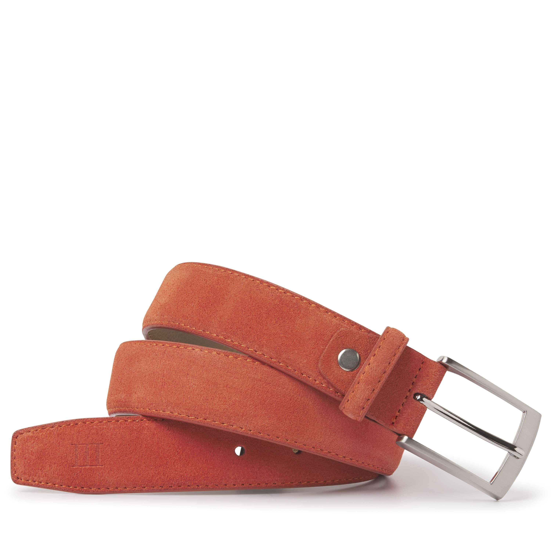 Tyler | Belt suede orange