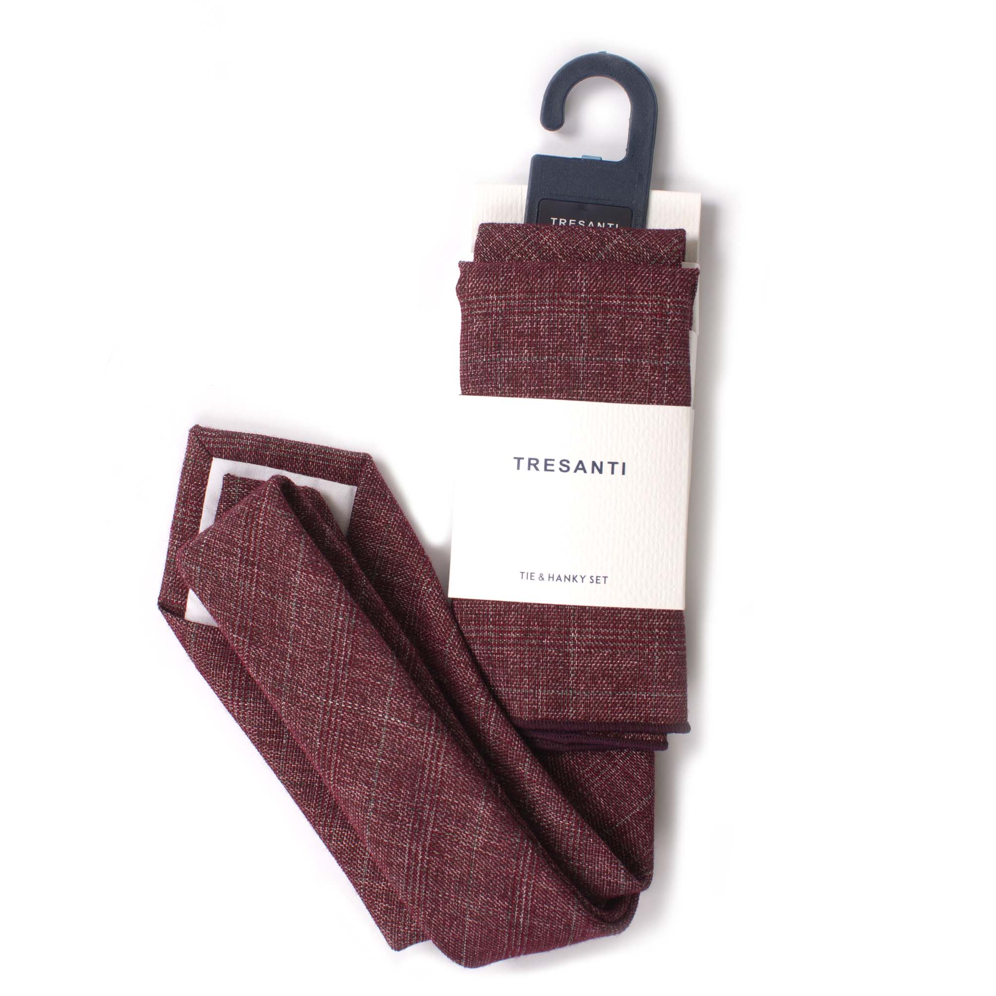 Tie & hanky set cotton