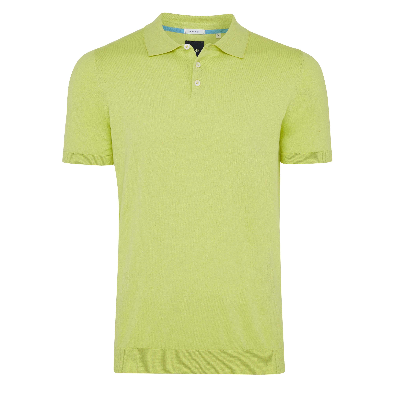 Trevor | Pullover polo yellow