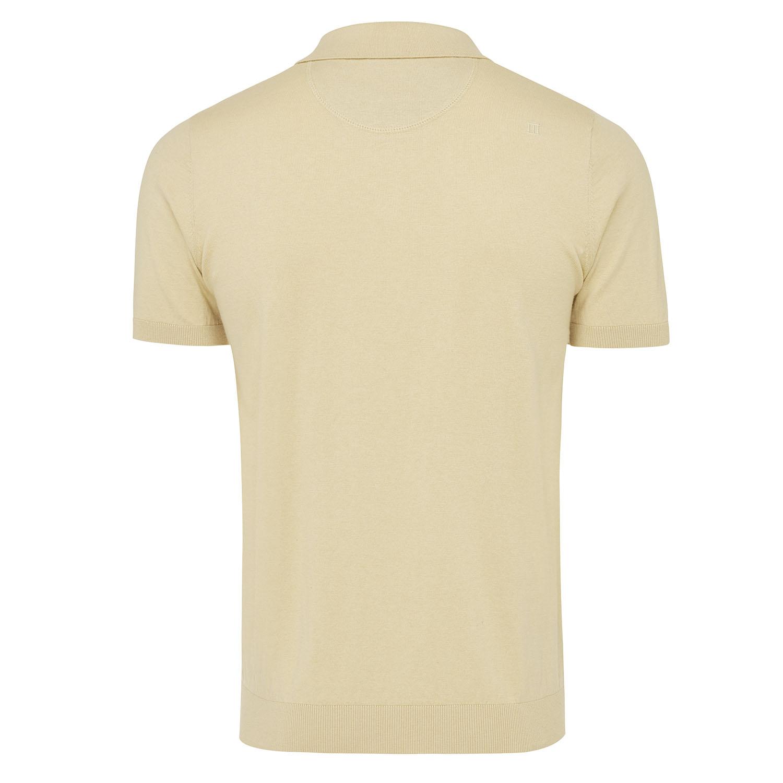 Trevor | Pullover short sleeve cotton/cashmere beige