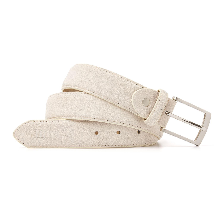 Tyler | Belt suede light beige